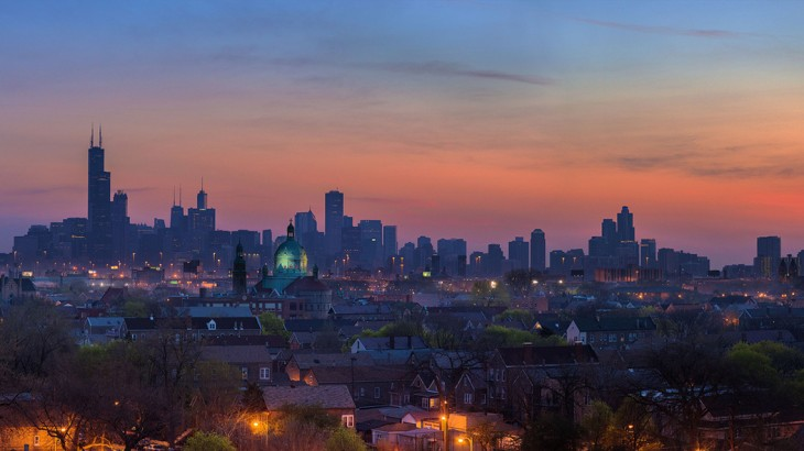 Chicago Skyline par Christopher
